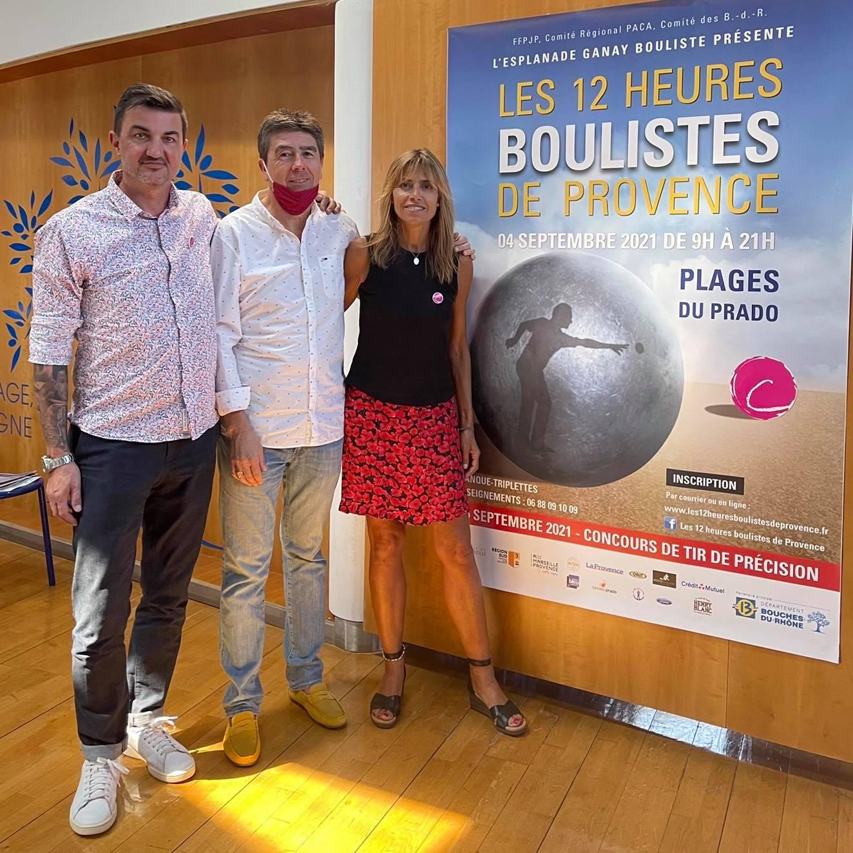 Les 12H Boulistes de Provence – conférence de presse