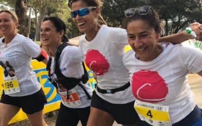 Run for Le Point rose, les défis d'octobre