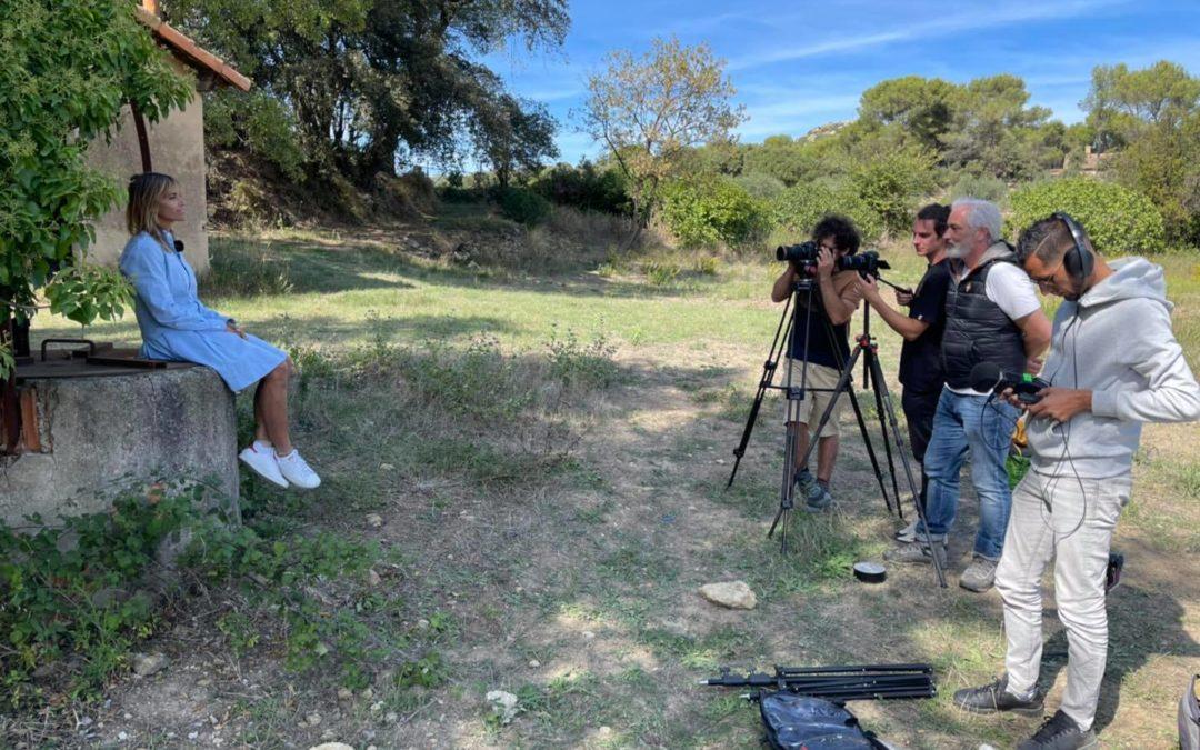 Tournage d'un documentaire avec les parents du Point rose