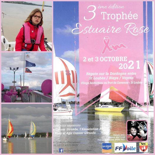 Trophée Estuaire rose, régate