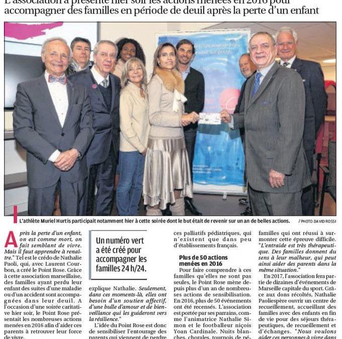 La Provence, 19 janvier 2017