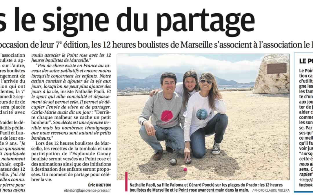 Article : Les 12 heures boulistes de Marseille