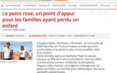 Le Point rose à la radio RCF