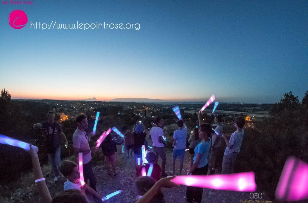 La marche des lucioles, 2° édition, le 24 juin 2017