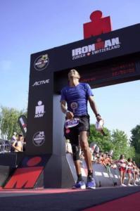 Hakim Bagy Ironman Zurich 2019